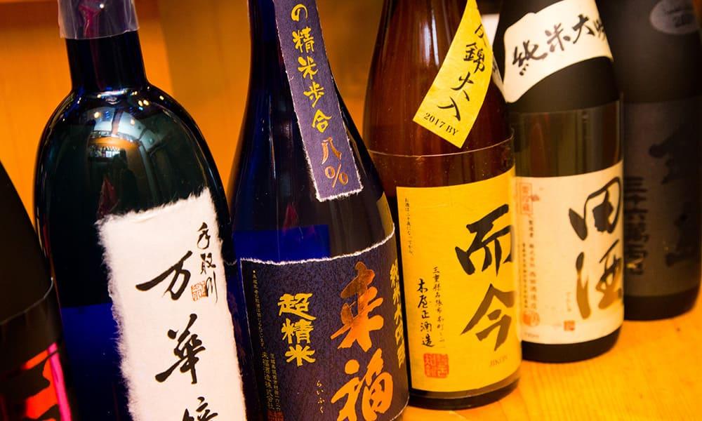 Jikon, Densyu我們也有多種選擇的大吟醸